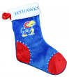 Kansas Jayhawks 2017 NCAA Basic Logo Plush Christmas Stocking