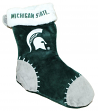 Michigan State Spartans 2017 NCAA Basic Logo Plush Christmas Stocking