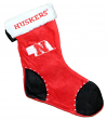 Nebraska Cornhuskers 2017 NCAA Basic Logo Plush Christmas Stocking