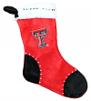 Texas Tech Red Raiders 2017 NCAA Basic Logo Plush Christmas Stocking