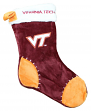 Virginia Tech Hokies 2017 NCAA Basic Logo Plush Christmas Stocking