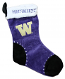 Washington Huskies 2017 NCAA Basic Logo Plush Christmas Stocking