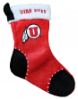 Utah Utes 2017 NCAA Basic Logo Plush Christmas Stocking