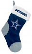Dallas Cowboys 2017 NFL Basic Logo Plush Christmas Stocking