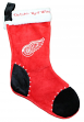 Detroit Red Wings 2017 NHL Basic Logo Plush Christmas Stocking