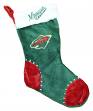 Minnesota Wild 2017 NHL Basic Logo Plush Christmas Stocking
