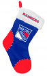 New York Rangers 2017 NHL Basic Logo Plush Christmas Stocking