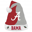 Alabama Crimson Tide 2017 NCAA Basic Logo Plush Christmas Santa Hat