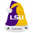 LSU Tigers 2017 NCAA Basic Logo Plush Christmas Santa Hat
