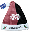 Mississippi State Bulldogs 2017 NCAA Basic Logo Plush Christmas Santa Hat