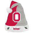 Ohio State Buckeyes 2017 NCAA Basic Logo Plush Christmas Santa Hat