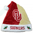 Oklahoma Sooners 2017 NCAA Basic Logo Plush Christmas Santa Hat