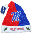 Mississippi Ole Miss Rebels 2017 NCAA Basic Logo Plush Christmas Santa Hat