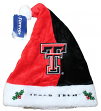 Texas Tech Red Raiders 2017 NCAA Basic Logo Plush Christmas Santa Hat