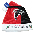 Atlanta Falcons 2017 NFL Basic Logo Plush Christmas Santa Hat
