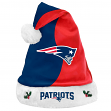New England Patriots 2017 NFL Basic Logo Plush Christmas Santa Hat