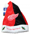 Detroit Red Wings 2017 NHL Basic Logo Plush Christmas Santa Hat