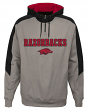"Arkansas Razorbacks NCAA ""Illustrious"" Men's 1/4 Zip Pullover Hooded Jacket"