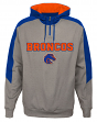 "Boise State Broncos NCAA ""Illustrious"" Men's 1/4 Zip Pullover Hooded Jacket"