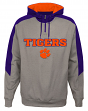 "Clemson Tigers NCAA ""Illustrious"" Men's 1/4 Zip Pullover Hooded Jacket"