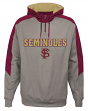 "Florida State Seminoles NCAA ""Illustrious"" Men's 1/4 Zip Pullover Hooded Jacket"
