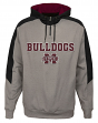 Mississippi State Bulldogs NCAA Illustrious Men's 1/4 Zip Pullover Hooded Jacket
