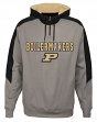 "Purdue Boilermakers NCAA ""Illustrious"" Men's 1/4 Zip Pullover Hooded Jacket"