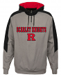 "Rutgers Scarlet Knights NCAA ""Illustrious"" Men's 1/4 Zip Pullover Hooded Jacket"