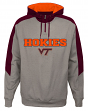 "Virginia Tech Hokies NCAA ""Illustrious"" Men's 1/4 Zip Pullover Hooded Jacket"