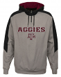 "Texas A&M Aggies NCAA ""Illustrious"" Men's 1/4 Zip Pullover Hooded Jacket"