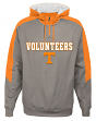 "Tennessee Volunteers NCAA ""Illustrious"" Men's 1/4 Zip Pullover Hooded Jacket"
