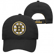 "Boston Bruins Youth NHL ""Open Net"" Structured Adjustable Hat"
