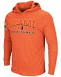 "Miami Hurricanes NCAA ""Chotchkie"" Men's Long Sleeve Hooded Wind Shirt"