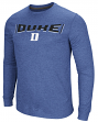 "Duke Blue Devils NCAA ""Cake Time"" Men's Long Sleeve T-Shirt"