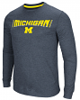 "Michigan Wolverines NCAA ""Cake Time"" Men's Long Sleeve T-Shirt"