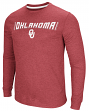 "Oklahoma Sooners NCAA ""Cake Time"" Men's Long Sleeve T-Shirt"