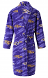 "Baltimore Ravens NFL ""Grandstand"" Men's Micro Fleece Robe"
