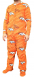 "Denver Broncos NFL ""Grand"" Men's Micro Fleece Union Suit"