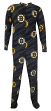 "Boston Bruins NHL ""Grand"" Men's Micro Fleece Union Suit"