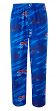 "Buffalo Bills NFL ""End Zone"" Men's Micro Fleece Pajama Pants"