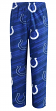 "Indianapolis Colts NFL ""End Zone"" Men's Micro Fleece Pajama Pants"