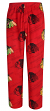 "Chicago Blackhawks NHL ""Penalty Box"" Men's Micro Fleece Pajama Pants"