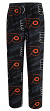 "Philadelphia Flyers NHL ""Penalty Box"" Men's Micro Fleece Pajama Pants"