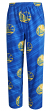 "Golden State Warriors NBA ""Jump Shot"" Men's Micro Fleece Pajama Pants"