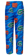 "Florida Gators NCAA ""End Zone"" Men's Micro Fleece Pajama Pants"