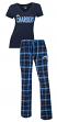 "Los Angeles Chargers NFL ""Game Day"" Women's T-shirt & Flannel Pajama Sleep Set"