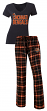 "Cincinnati Bengals NFL ""Game Day"" Women's T-shirt & Flannel Pajama Sleep Set"