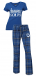 "Indianapolis Colts NFL ""Game Day"" Women's T-shirt & Flannel Pajama Sleep Set"