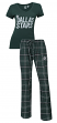 "Dallas Stars NHL ""Game Day"" Women's T-shirt & Flannel Pajama Sleep Set"