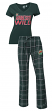 "Minnesota Wild NHL ""Game Day"" Women's T-shirt & Flannel Pajama Sleep Set"